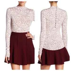 NWT Free People Long Sleeve Blouse Top